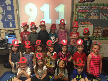 Pre K Learns about Fire Prevention